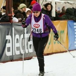 Skiing 45 km - Lena Lindström (2246)