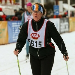 Skiing 45 km - Maria Andersson (5615)