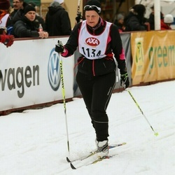 Skiing 45 km - Anicka Gunnarsson (1134)