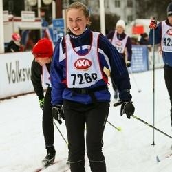 Skiing 45 km - Kajsa Hansson (7260)