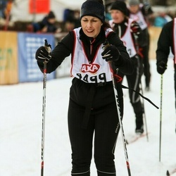 Skiing 45 km - Catharina Becker (4499)