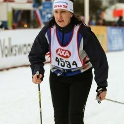 Skiing 45 km - Hillevi Bengtsson (4594)