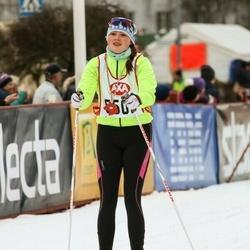 Skiing 45 km - Alice Mellring (5508)