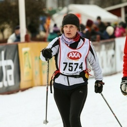 Skiing 45 km - Anne Kinhult Ståhlbom (7574)