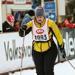 Skiing 45 km - Malin Bjuvenius (1093)