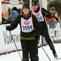 Skiing 45 km - Marithe Eriksson (2594)