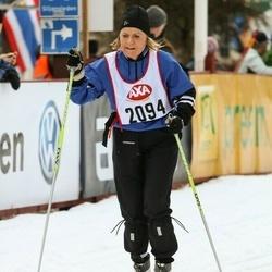 Skiing 45 km - Boel Andersson (2094)