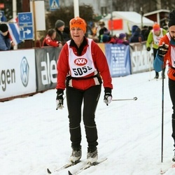 Skiing 45 km - Barbro Johansson (5059)