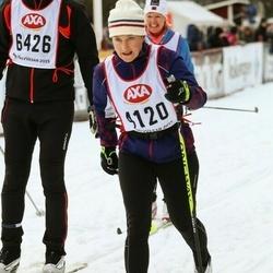 Skiing 45 km - Christina Norvell (4120)