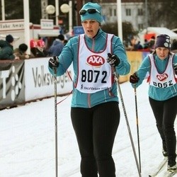Skiing 45 km - Frida Masser-Brandt (8072)
