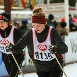Skiing 45 km - Natalie Elmqvist (8135)