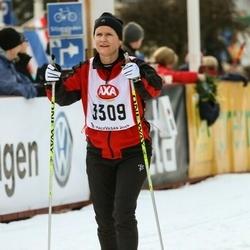 Skiing 45 km - Charlotta Jansson (3309)