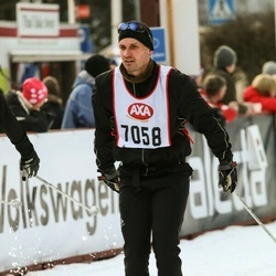 Skiing 45 km - Mikael Helgeson (7058)