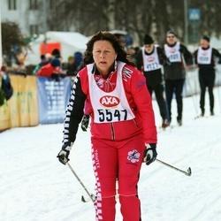 Skiing 45 km - Susanne Söderström (5547)
