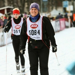Skiing 45 km - Helena Tsiamanis (3084)