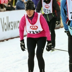 Skiing 45 km - Lénie Dahl (7293)