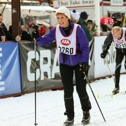 Skiing 45 km - Annette Fransson (2260)