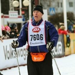 Skiing 45 km - Jan Evert Olsson (7606)