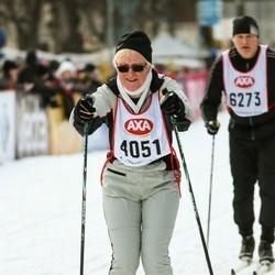 Skiing 45 km - Karin Jakobsson (4051)