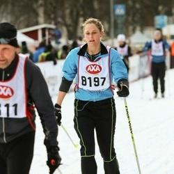 Skiing 45 km - Ilse Dubbelboer (8197)