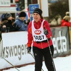 Skiing 45 km - Miriam Juul Christensen (5607)