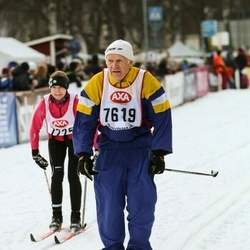 Skiing 45 km - Lars Åhlman (7619)
