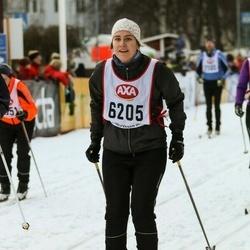 Skiing 45 km - Sara Eriksson (6205)