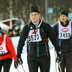 Skiing 45 km - Björn Högberg (5527)