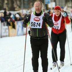 Skiing 45 km - Mårten Block (3614)