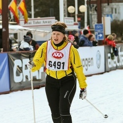 Skiing 45 km - Elin Harring (6491)