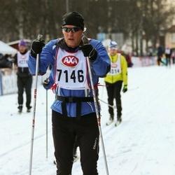 Skiing 45 km - Lars Hedström (7146)