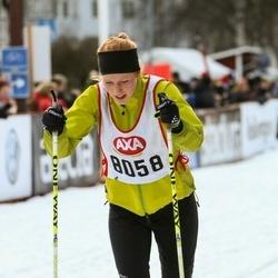 Skiing 45 km - Ebba Odbro (8058)