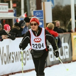 Skiing 45 km - Christina Jönsson Rydman (2204)