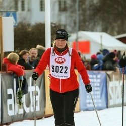 Skiing 45 km - Jeanette Karlsson (3022)