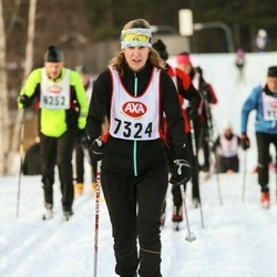 Skiing 45 km - Malin Fröderberg (7324)