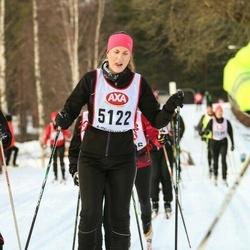 Skiing 45 km - Johanna Davidsson (5122)