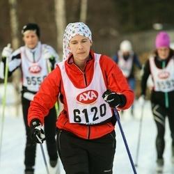 Skiing 45 km - Eva Algesson (6120)