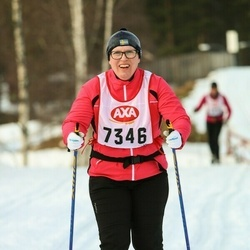 Skiing 45 km - Anette Runesson (7346)