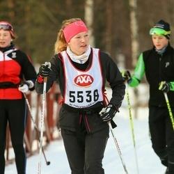 Skiing 45 km - Sandra Eklund (5538)