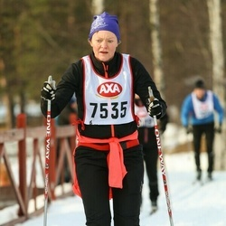Skiing 45 km - Jenny Sjöling (7535)