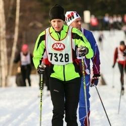 Skiing 45 km - Ellinor Gribbe (7328)