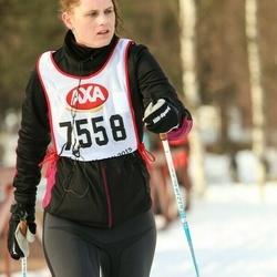 Skiing 45 km - Sofia Wigren (7558)