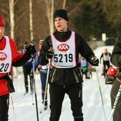 Skiing 45 km - Gabriel Asklund (5219)