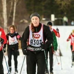 Skiing 45 km - Kristina Rubin (8302)