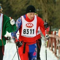 Skiing 45 km - Jonas Sjödin (8311)