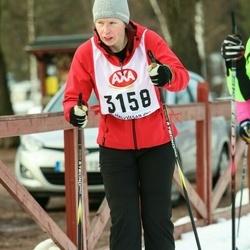 Skiing 45 km - Annika Larsson (3158)