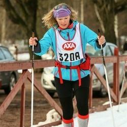 Skiing 45 km - Lisbet Bang Pedersen (3208)