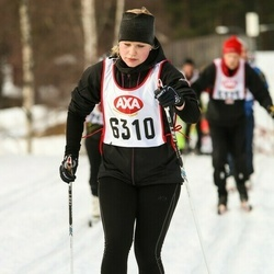 Skiing 45 km - Malin Jonsson (6310)