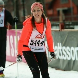 Skiing 45 km - Juliette Daniels (5444)