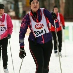 Skiing 45 km - Malin Ström (5241)